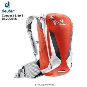 DEUTER(ドイター)【在庫処分/バイクバックパック】 Compact Lite 8 (コンパクトライト8) D3200015【バックパック】|linkfast
