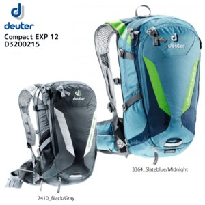 DEUTER(ドイター)【在庫処分/バイクバックパック】 Compact EXP12 (コンパクトEXP12) D3200215【バックパック】|linkfast