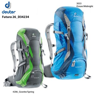 DEUTER(ドイター)【登山ハイキング/トレッキング】 Futura 26(フューチュラ 26)D34234【バックパック/リュック】|linkfast