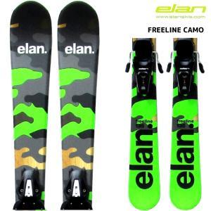 18-19 ELAN(エラン)【スキー金具セット/数量限定】 FREELINE Camo(フリーライン カモ)【ショートスキー/金具取付無料】 linkfast