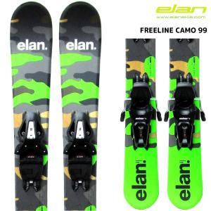 18-19 ELAN(エラン)【在庫処分/スキー金具セット】 FREELINE Camo 99(フリーライン カモ 99)【スキーボード/金具取付無料】 linkfast