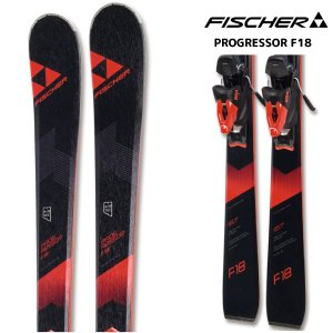17-18 FISCHER(フィッシャー)【在庫処分/金具付】 PROGRESSOR F18(プログレッサーF18 金具付)【スキー板/金具取付無料】|linkfast