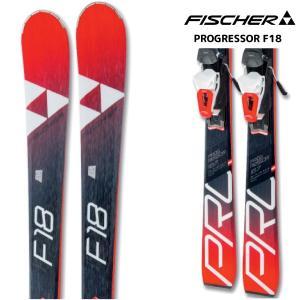 18-19 FISCHER(フィッシャー)【在庫処分/金具付】 PROGRESSOR F18(プログレッサー F18 金具付)【スキー板/金具取付料無料】|linkfast