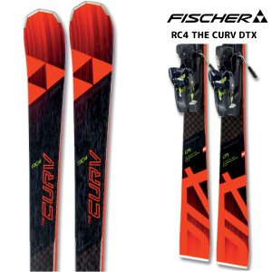 18-19 FISCHER(フィッシャー)【金具付/数量限定】 RC4 THE CURV DTX(RC4 ザ・カーブ DTX 金具付)【スキー板/金具取付料無料】|linkfast