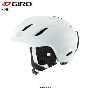 17-18 GIRO(ジロ)【スノーヘルメット/数量限定商品】 NINE Asian Fit (ナイン アジアンフィット)|linkfast