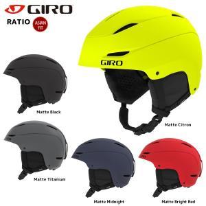 18-19 GIRO(ジロ)【スノーヘルメット/数量限定商品】 RATIO(レシオ)【スキー/スノーボード】|linkfast