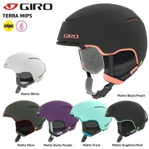 18-19 GIRO(ジロ)【スノーヘルメット/数量限定商品】 TERRA MIPS Women(テラミップス ウィメンズ)【スキーヘルメット/レディス】|linkfast