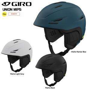 18-19 GIRO(ジロ)【スノーヘルメット/数量限定商品】 UNION MIPS AsianFit(ユニオンミップスアジアンフィット)【スキー/スノーボード】|linkfast