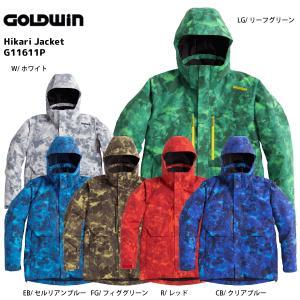 16-17 GOLDWIN(ゴールドウィン)【最終在庫処分】 Hikari Jacket(ヒカリ ジャケット)G11611P【スキーウェア】|linkfast
