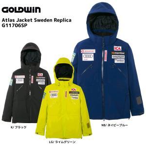 17-18 GOLDWIN(ゴールドウィン)【在庫処分商品】 Atlas Jacket Sweden Replica(アトラスジャケット スウェーデンレプリカ)G11706SP【スキーウェア】|linkfast