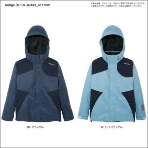 17-18 GOLDWIN(ゴールドウィン)【在庫処分商品】 Indigo Denim Jacket (インディゴ デニムジャケット) G11709P【スキーウェア】|linkfast|03