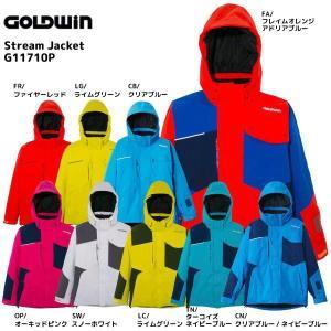 17-18 GOLDWIN(ゴールドウィン)【在庫処分商品】 Stream Jacket (ストリーム ジャケット) G11710P【スキーウェア】|linkfast