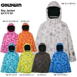 17-18 GOLDWIN(ゴールドウィン)【在庫処分商品】 Ray Jacket (レイ ジャケット) G11711P【スキーウェア】|linkfast