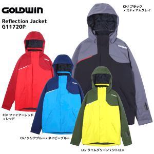 17-18 GOLDWIN(ゴールドウィン)【在庫処分商品】 Reflection Jacket(リフレクションジャケット) G11720P【スキーウェア】|linkfast
