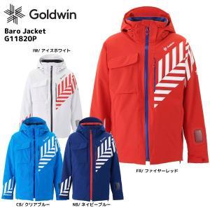 18-19 GOLDWIN(ゴールドウィン)【最終在庫処分】Baro Jacket(バロ ジャケット)G11820P【スキージャケット】|linkfast