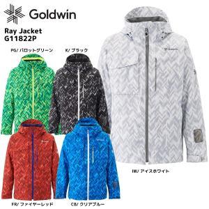 18-19 GOLDWIN(ゴールドウィン)【最終在庫処分】Ray Jacket(レイ ジャケット)G11822P【スキージャケット】|linkfast