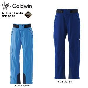 18-19 GOLDWIN(ゴールドウィン)【数量限定商品】G-Titan Pants(Gタイタン パンツ)G31811P【スキーパンツ】|linkfast