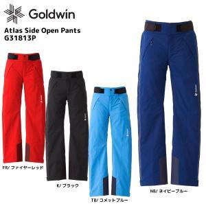 18-19 GOLDWIN(ゴールドウィン)【最終在庫処分】Atlas Side Open Pants(アトラス サイドオープンパンツ)G31813P【スキーパンツ】|linkfast