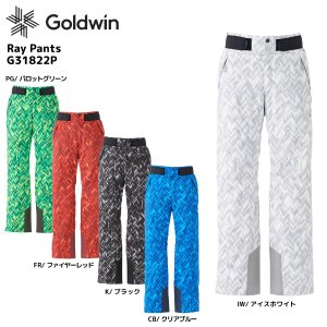 18-19 GOLDWIN(ゴールドウィン)【最終在庫処分】Ray Pants(レイ パンツ)G31822P【スキーパンツ】|linkfast