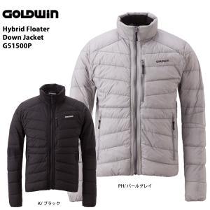 15-16 GOLDWIN(ゴールドウィン)【最終処分商品】 Hybrid Floater Down Jacket (ハイブリッド フローター ダウンジャケット) G51500P|linkfast