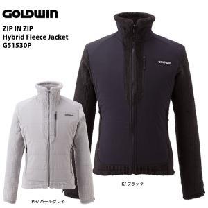 15-16 GOLDWIN(ゴールドウィン)【最終処分商品】 ZIP IN ZIP Hybrid Fleece Jacket (ジップインジップ ハイブリッド フリースジャケット) G51530P|linkfast