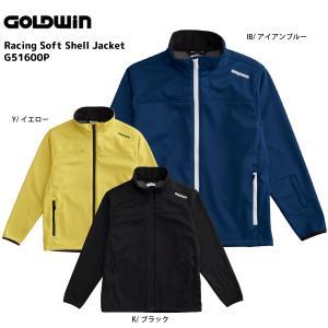 16-17 GOLDWIN(ゴールドウィン)【最終在庫処分】 Racing Soft Shell Jacket(レーシングソフトシェルジャケット)G51600P【ミドルジャケット】|linkfast