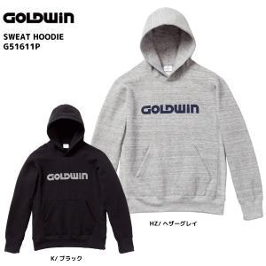 16-17 GOLDWIN(ゴールドウィン)【在庫処分商品】 Sweat Hoodie (スウェットフーディー) G51611P【スウェットパーカー】|linkfast