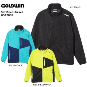 17-18 GOLDWIN(ゴールドウィン)【最終在庫処分】 Softshell Jacket(ソフトシェルジャケット)G51700P【ミドルジャケット】|linkfast