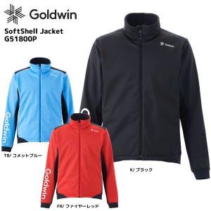 18-19 GOLDWIN(ゴールドウィン)【数量限定商品】Softshell Jacket(ソフトシェルジャケット)G51800P【ミドルウェア】|linkfast