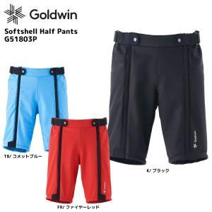 18-19 GOLDWIN(ゴールドウィン)【数量限定商品】Softshell Half Pants(ソフトシェルハーフパンツ)G51803P【レーシングウェア】 linkfast