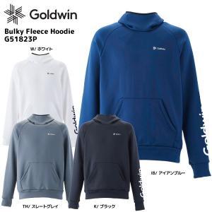 18-19 GOLDWIN(ゴールドウィン)【数量限定商品】Bulky Fleece Hoodie(バルキーフリースフーディー)G51823P【ミドルウェア】|linkfast