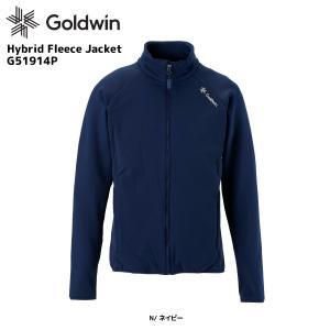 19-20 GOLDWIN(ゴールドウィン)【早期予約商品】Hybrid Fleece Jacket(ハイブリッドフリースジャケット)G51914P【ミドルジャケット】|linkfast