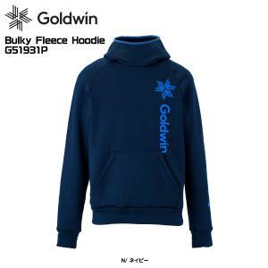 19-20 GOLDWIN(ゴールドウィン)【早期予約商品】Bulky Fleece Hoodie(バルキーフリースフーディー)G51931P【ミドルジャケット】|linkfast