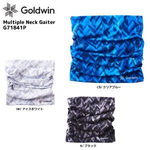18-19 GOLDWIN(ゴールドウィン)【数量限定商品】 Multiple Neck Gaiter(マルティプルネックゲーター)G71841P【ネックゲーター/ヘアバンド/ビーニー】|linkfast