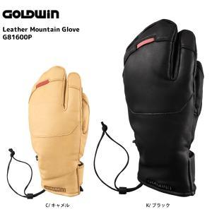 16-17 GOLDWIN(ゴールドウィン)【数量限定商品】 Leather Mountain Glove (レザーマウンテングローブ) G81600P|linkfast