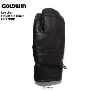 17-18 GOLDWIN(ゴールドウィン)【在庫処分商品】 Leather Mountain Glove (レザーマウンテングローブ)G81700P【スキーグローブ】|linkfast