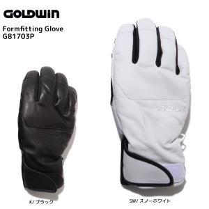 17-18 GOLDWIN(ゴールドウィン)【在庫処分商品】 Formfitting Glove (フォームフィッティンググローブ)G81703P【スキーグローブ】|linkfast