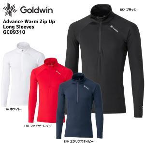 19-20 GOLDWIN(ゴールドウィン)【早期予約商品】Advance Warm Zip Up Long Sleeves(アドバンスウォームZUロングスリーブ)GC09310【アンダーウェア】|linkfast