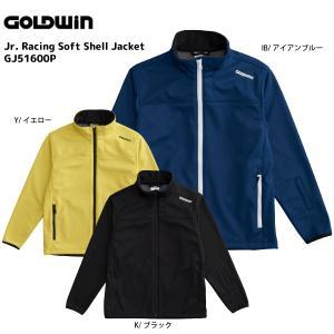 16-17 GOLDWIN(ゴールドウィン)【最終在庫処分】 Jr. Racing Soft Shell Jacket(ジュニアレーシングソフトシェルジャケット)GJ51600P【ミドルジャケット】|linkfast