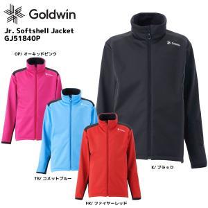 18-19 GOLDWIN(ゴールドウィン)【数量限定商品】Jr.Softshell Jacket(ジュニアソフトシェルジャケット)GJ51840P【ミドルウェア/ジュニア】|linkfast
