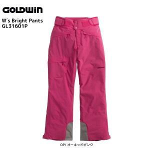 16-17 GOLDWIN(ゴールドウィン)【最終在庫処分】 W's Bright Pants(ウィメンズ ブライトパンツ)GL31601P【スキーパンツ/レディス】|linkfast