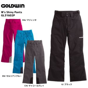 16-17 GOLDWIN(ゴールドウィン)【最終在庫処分】 W's Shiny Pants (ウィメンズ シャイニーパンツ) GL31602P|linkfast