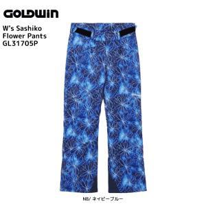 17-18 GOLDWIN(ゴールドウィン)【在庫処分商品】 W's Sashiko Flower Pants(ウィメンズ サシコフラワー パンツ)GL31705P【スキーパンツ】|linkfast
