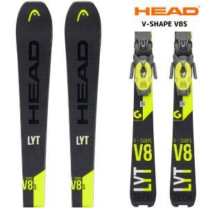 19-20 HEAD(ヘッド)【早期予約/スキー板/金具付】 V-SHAPE V8S(Vシェイプ V8エス 金具付)315319【金具取付無料】|linkfast