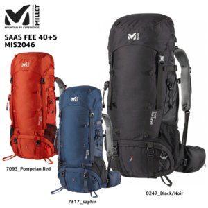 MILLET(ミレー)【2016/バックパック/数量限定品】 SAAS FEE 40+5 (サースフェー 40+5) MIS2046