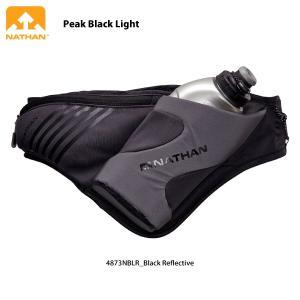 NATHAN (ネイサン) 【ランニングエッセンシャル/限定】 Peak Black Light (ピーク バックライト)4873|linkfast