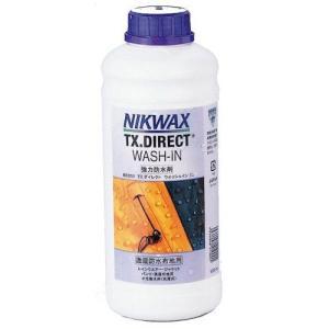 NIKWAX(ニクワックス)【アウトドア小物/撥水用】 TXダイレクトウォッシュイン1リットル EBE253|linkfast