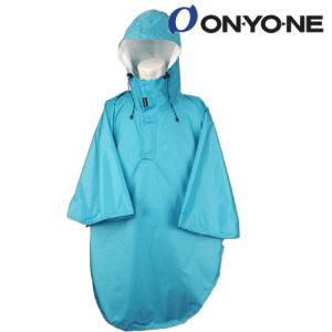 ONYONE(オンヨネ)【雨対策商品/ハイク/収納袋付】ショートレインポンチョ ODJ94002 -614/ターコイズ- linkfast