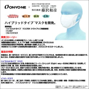 ONYONE(オンヨネ)【マスク/限定ロゴ入/早期予約】 ハイブリッドタイプ マスクSK(ドライアップ制菌繊維)OMA20MK2P【早期限定ロゴ入りマスク】|linkfast|04