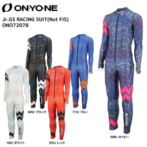 19-20 ONYONE(オンヨネ)【早期予約/レーシング】 Jr.GS RACING SUIT(Not FIS)(ジュニアGSレーシング スーツ)ONO72078【レーシングスーツ/ジュニア】 linkfast